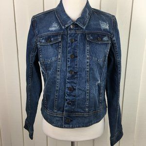 A Pea In The Pod Maternity Denim Jacket Size Large